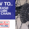 How to degrease and lube your chain