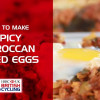Spicy moroccan baked eggs