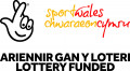 Sport Wales Lottery Funded