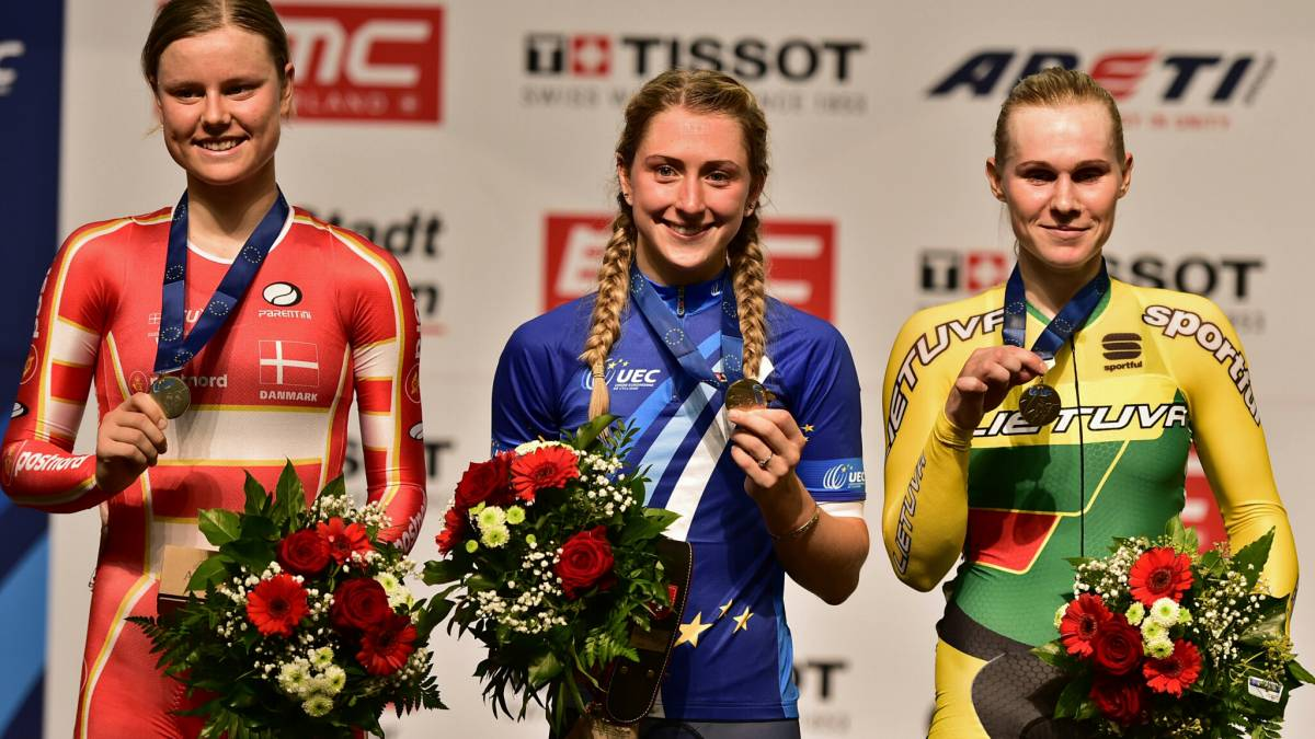 068f6f65cf6 Trott and Archibald win three golds as Great Britain Cycling Team top medal  table at European Track Championships