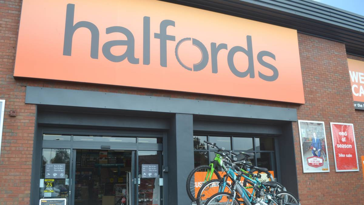 Save 10% at Halfords stores nationwide