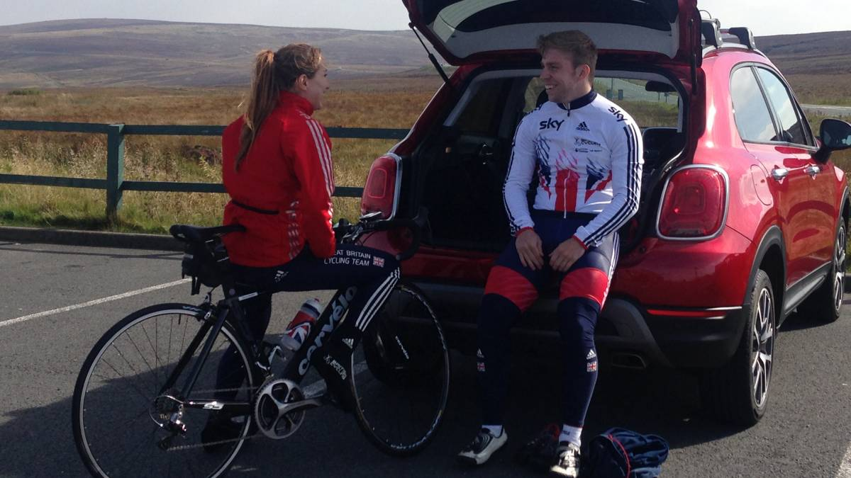cyclist wins signed jersey for his perfectride in yorkshire