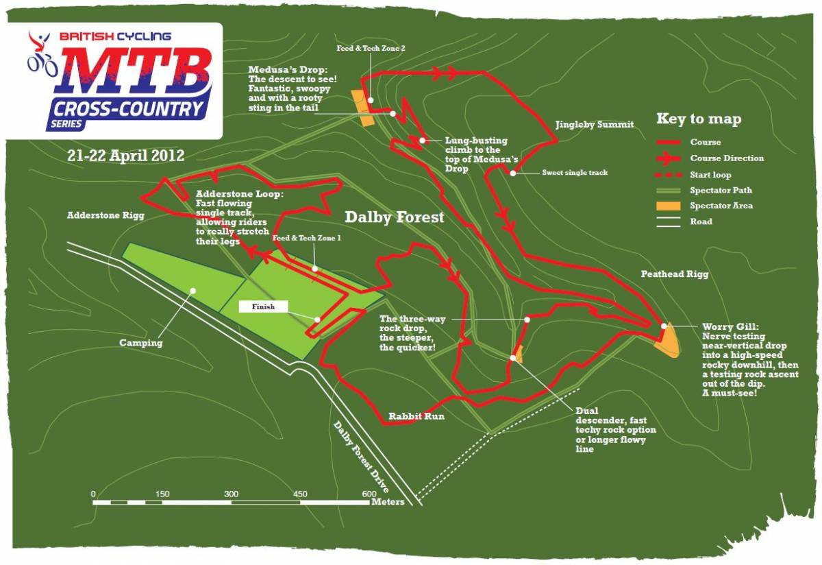 The Venues Round 2  Dalby Forest