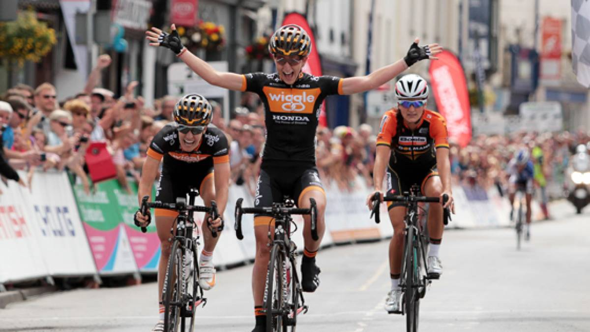 9256ad0a8 Laura Trott wins British Cycling National Road Championships women s title  in Abergavenny