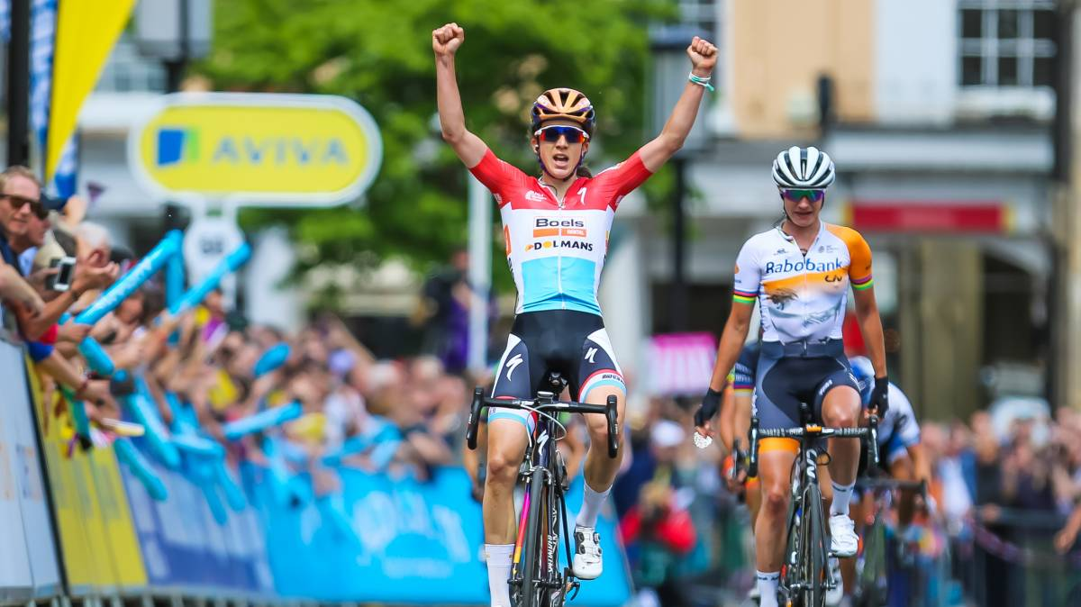 ef55cdd52 Majerus wins stage one of the Aviva Women s Tour as Armitstead leads the  British charge