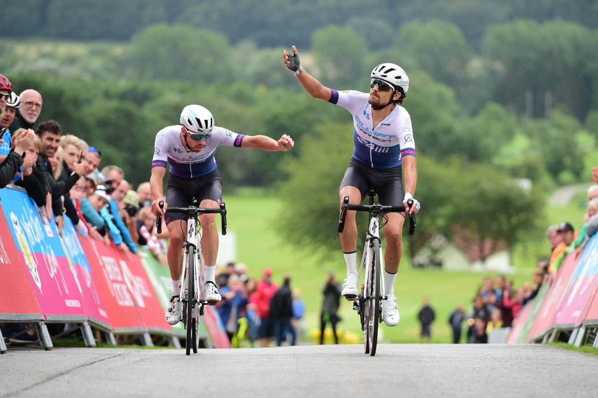 Claire Steels and James Shaw win at season-ending Ryedale Grasscrete Grand Prix
