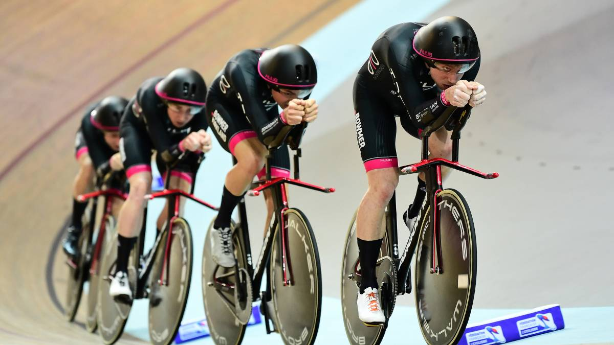 A host of international champions set to ride at next month s TISSOT UCI  Track Cycling World Cup in London 228502346