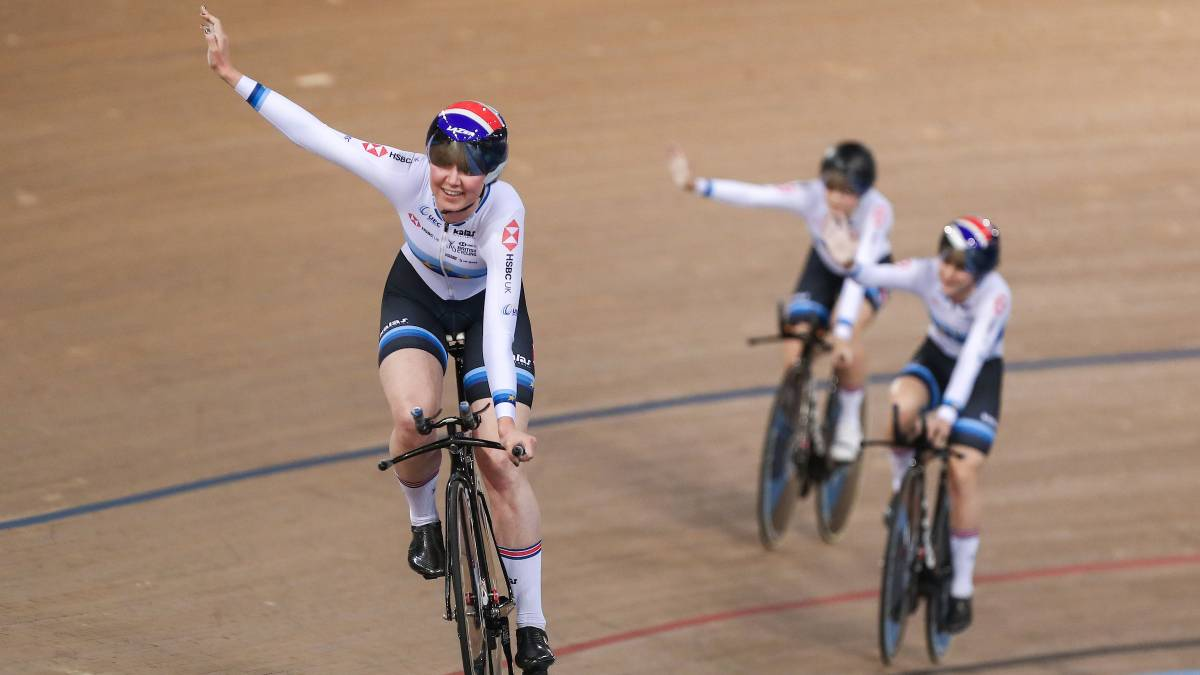 Great Britain enjoy golden evening at TISSOT UCI Track Cycling World Cup -  Day 1 3385d5bf1