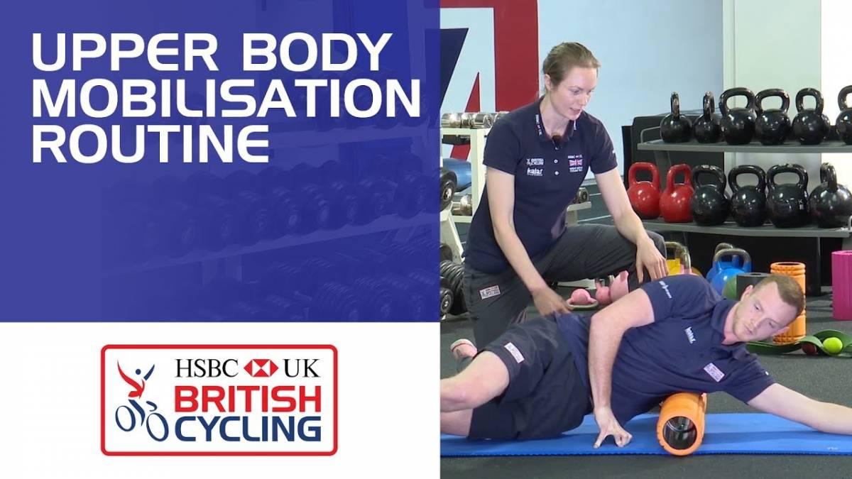 Upper body mobilisation routine