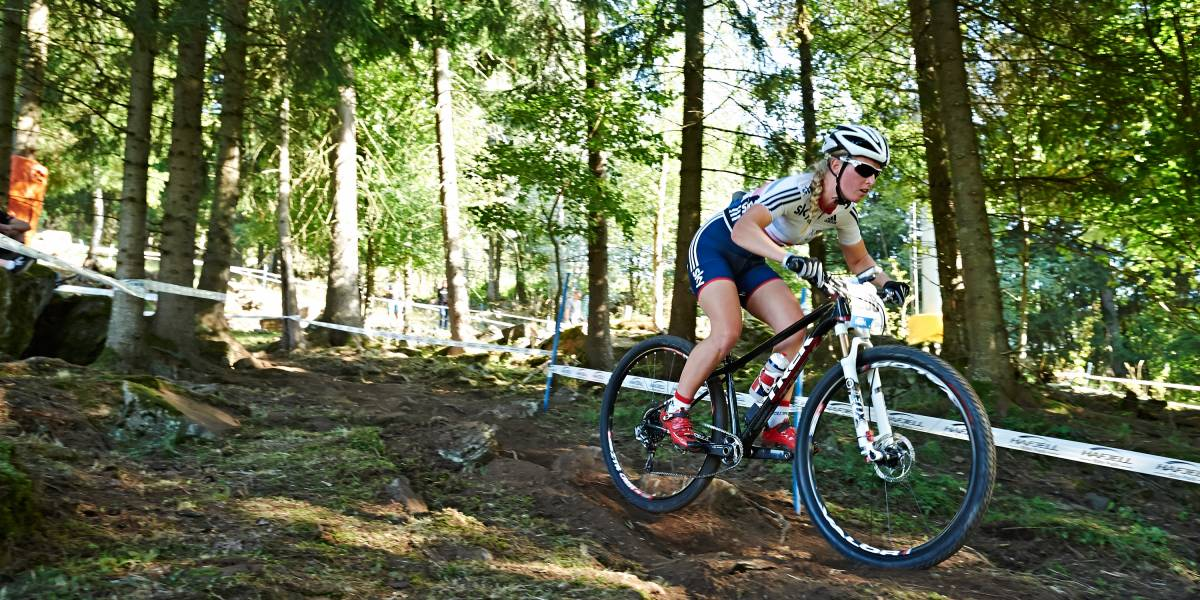 Alice Barnes buoyant as the mountain bike world cup resumes