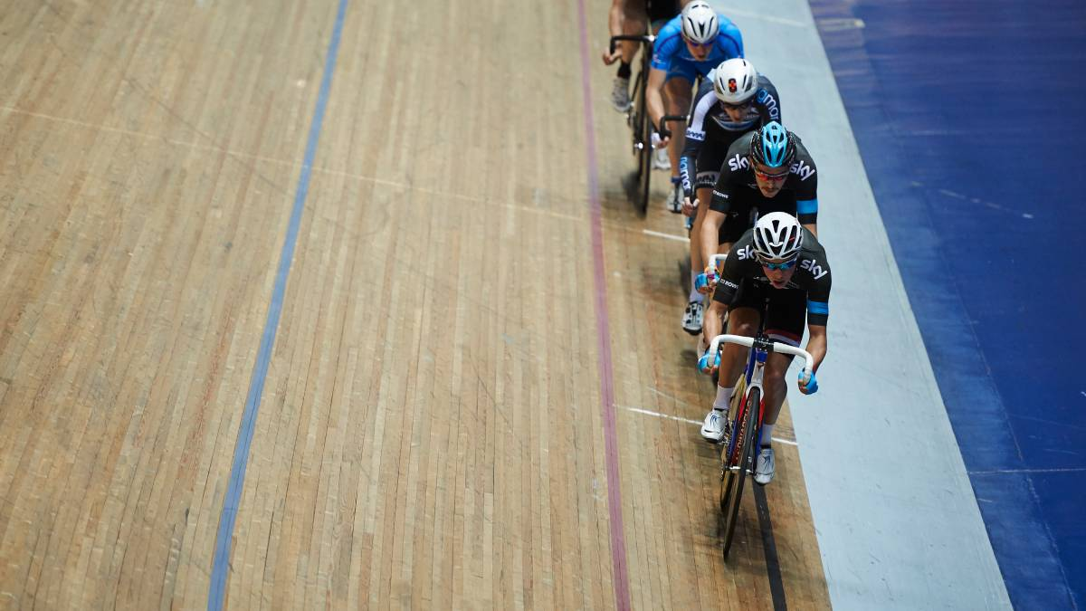 Great Britain road and track stars out in force for