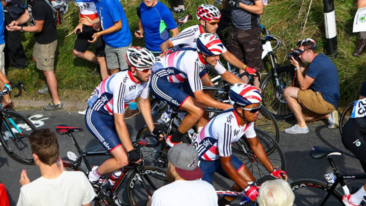 Great Britain Cycling Team at the 2014 UCI Road World ...