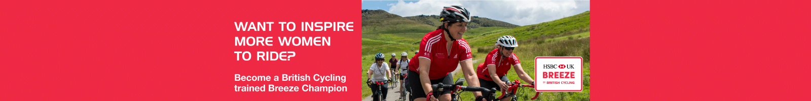 Become a Breeze Champion with British Cycling