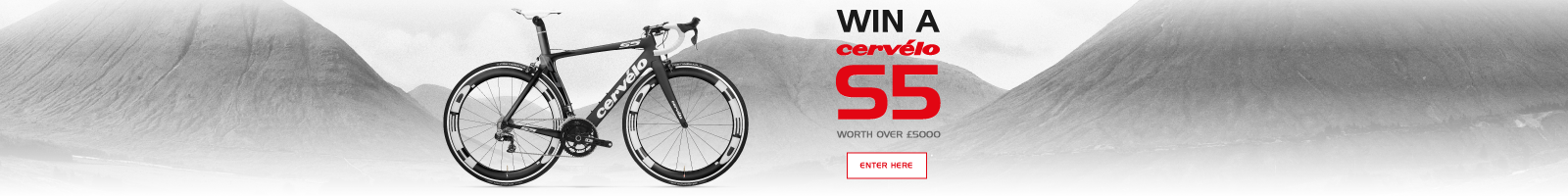 Enter to win a Cervelo S5 bike