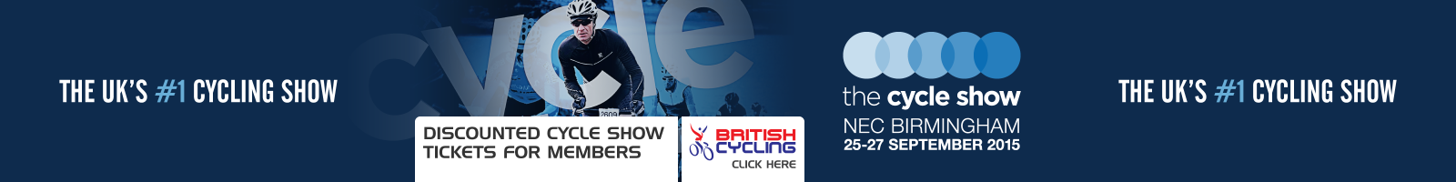 Cycle Show offer for British Cycling members