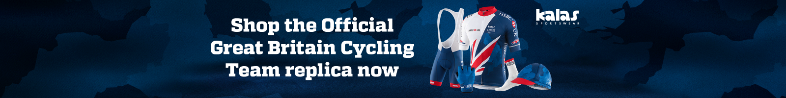 Shop the KALAS inspired cycling kit range