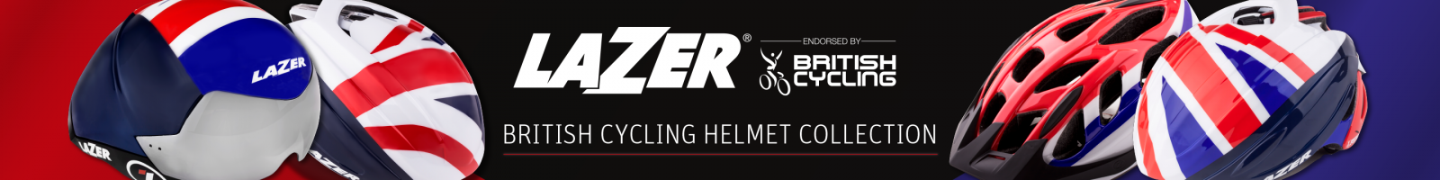 British Cycling Lazer Helmets