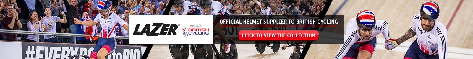 Buy a British Cycling Lazer helmet