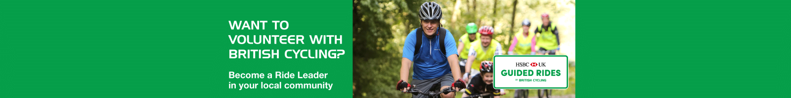 Become a British Cycling Ride Leader