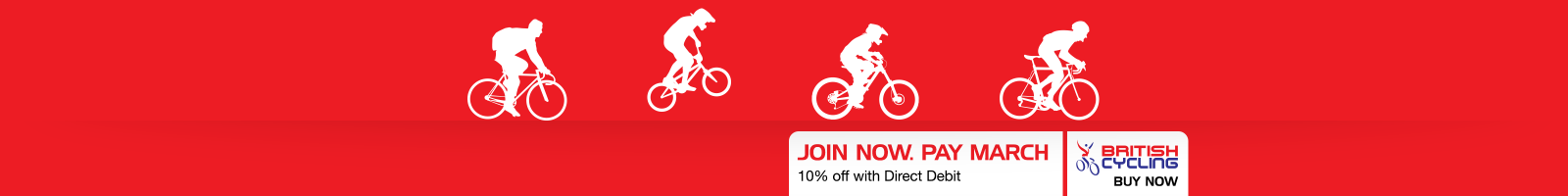 10% off British Cycling membership with Direct Debit