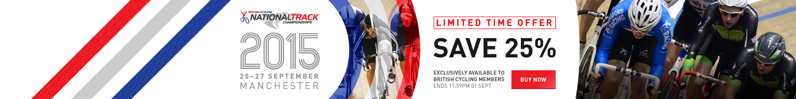 British Cycling National Track Championships 2015 Tickets