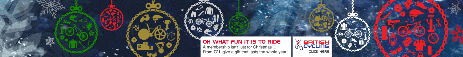 Give the gift of British Cycling membership