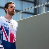 See the Great Britain Cycling Team train