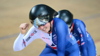 Great Britain complete world tandem pursuit double
