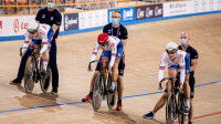 Scottish Stars Light Up the Track at the UEC European Track Championships