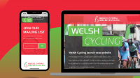 Welsh Cycling launch new website