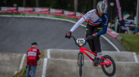 Whyte reaches semi-final as UCI BMX Supercross World Cup weekend draws to a close