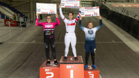 Beth Shriever and Chad Hartwell take early leads as the 2020 HSBC UK | National BMX Series gets under way in Manchester