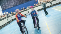 Read and Whitehead celebrate British Indoor Cycling Speedway Championships success