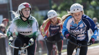 Grimes and Schmidt crowned champions at the HSBC UK | National Cycle Speedway Championships