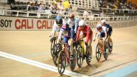 Superb silver for Nelson at the Tissot UCI Track Cycling World Cup in Cali