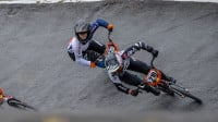 Shriever makes the BMX world cup semi-finals in Zolder