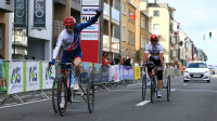 Craig McCann wins UCI Para-cycling Road World Cup gold in the T2 road race in Ostend