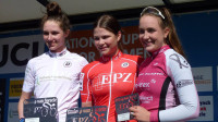 Britain's Pfeiffer Georgi secures second at the UCI Junior Women's Nations' Cup