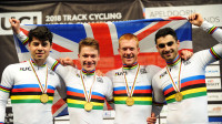 Charlie Tanfield and Ethan Hayter join the Great Britain Cycling Team Podium Programme