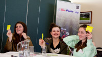 What's on offer for young volunteers at the 2016 Go-Ride Conferences?
