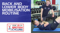 Back and lower body mobilisation routine