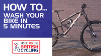 How to wash your bike in 5 minutes
