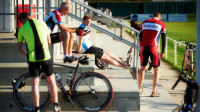 The final build up to a sportive