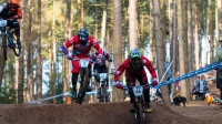 Hudson and Bradley winners at opening round of 2016 British Cycling MTB Four Cross Series