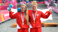 Mountain bike one-two for Team England at the Commonwealth Games