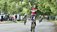 Vaughan wins the British Cycling National Junior Road Race Championship