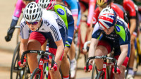 Nelson, Dickinson and Lloyd shine in British colours at Revolution Cycling Champions League