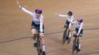 Great Britain enjoy golden evening at TISSOT UCI Track Cycling World Cup