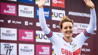 Katy marches to Keirin victory