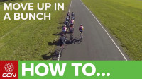 How to move up in a bunch - Racesmart